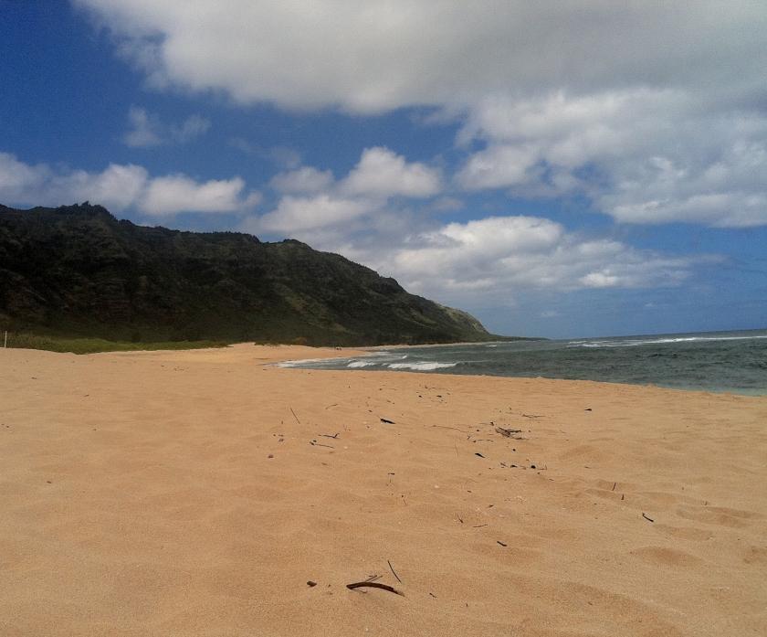 Our own private beach!