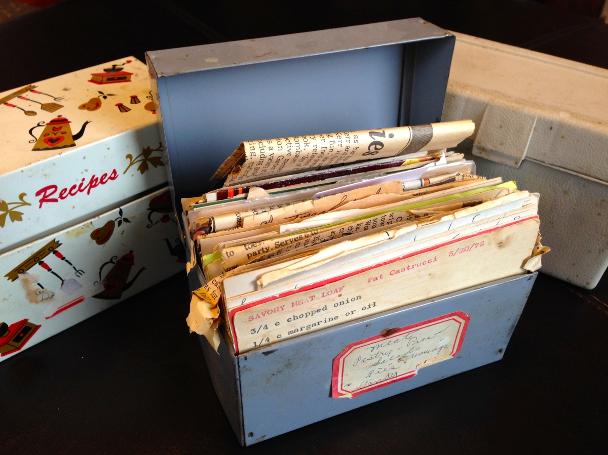 The History in My Grandmother's Recipe Boxes