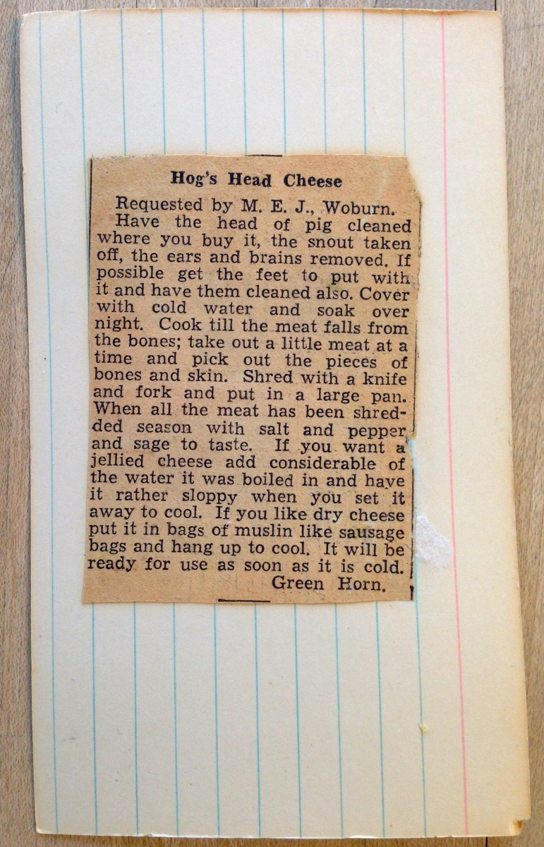 Recipes That Didn't Age Well