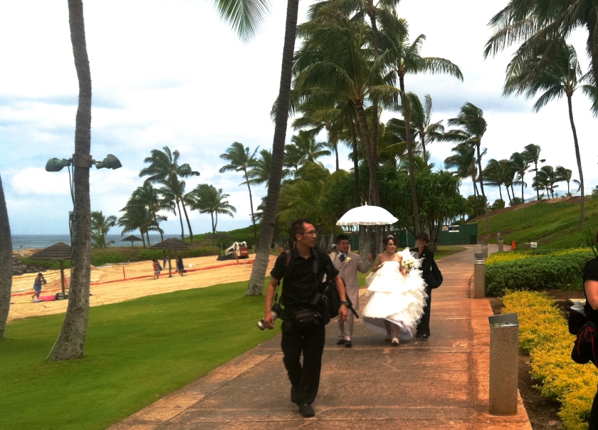 Destination weddings are big business in Hawaii. Destination weddings are big business in Hawaii.