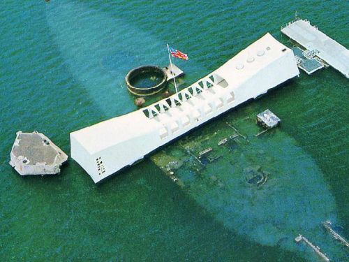 The memorial viewed from above (not my picture)