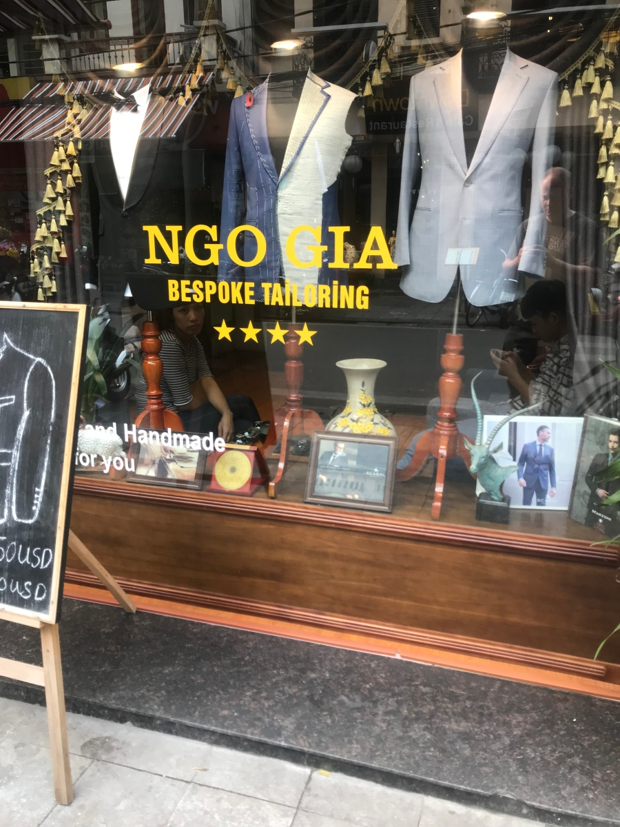 A Custom-Tailored Suit in Vietnam